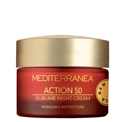 ACTION 50 SUBLIME NIGHT CREAM NEW FORMULA