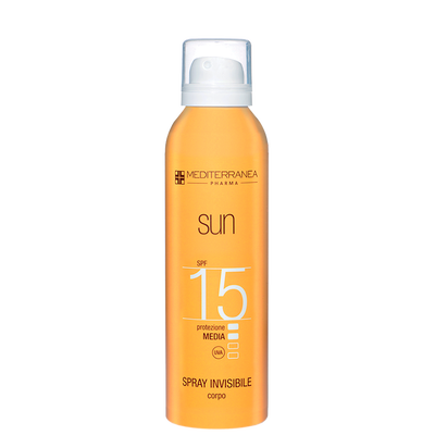 SPRAY INVISIBILE CORPO SPF 15