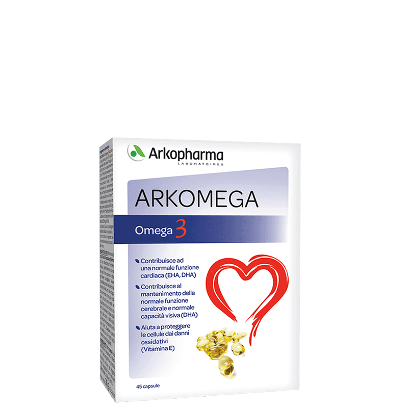 IN5 - Integratore Arkomega 3 45 Cps